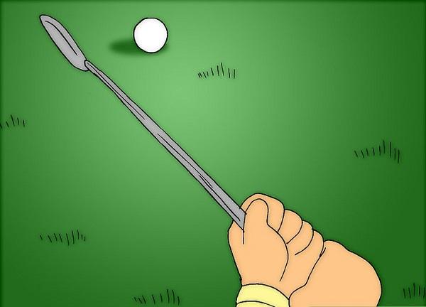 kỹ thuật gạt bóng golf