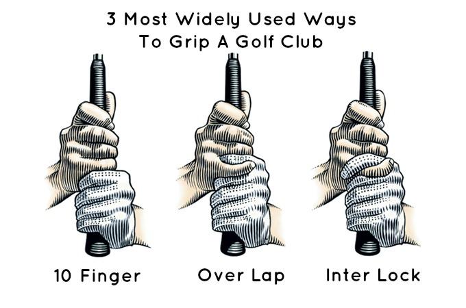 Hướng dẫn cách cầm gậy golf chuẩn