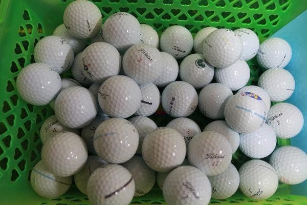 bóng golf cũ