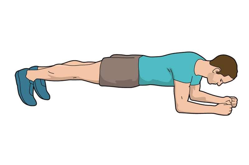 Bài tập Plank bổ trợ giảm chấn thương cho người mới chơi golf