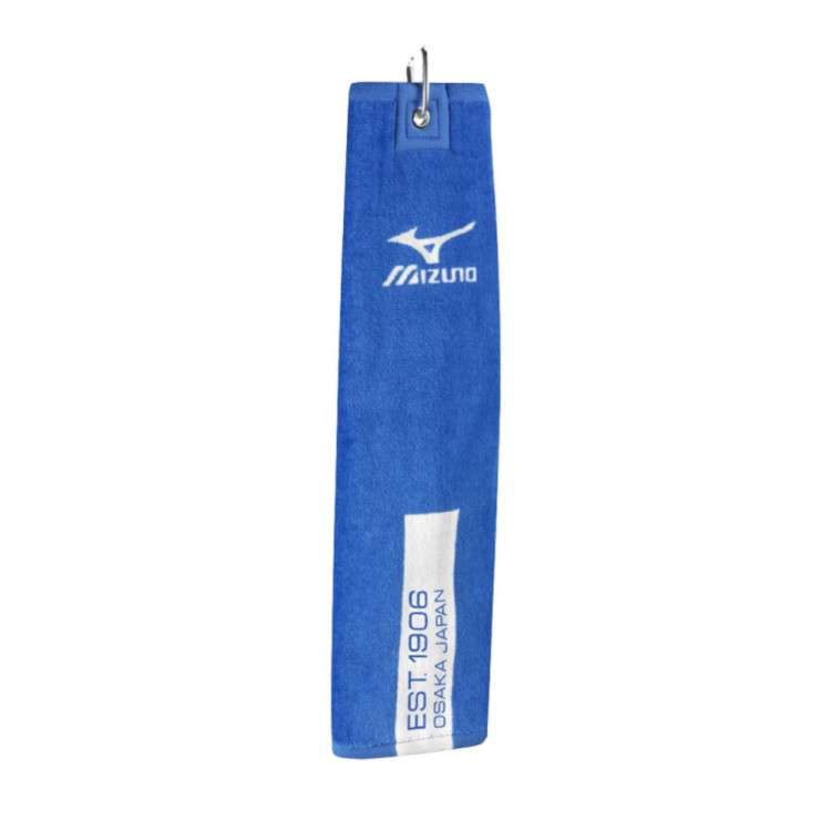 Khăn Golf Mizuno Tri Fold Clip Towel – 100% Cotton