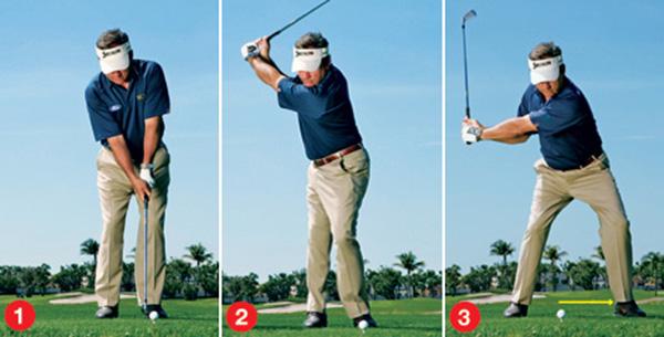 cách đánh golf gậy sắt