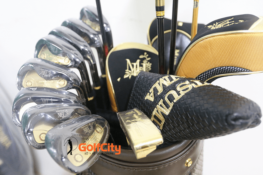 bộ gậy golf mutsumi honma