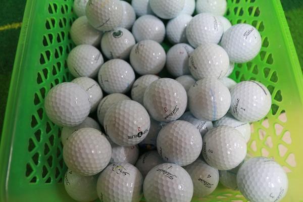 Bóng golf cũ Titleist Pro V1 sử dụng công ngh�! có ��