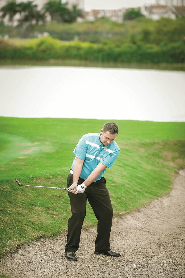kỹ thuật đánh cát golf