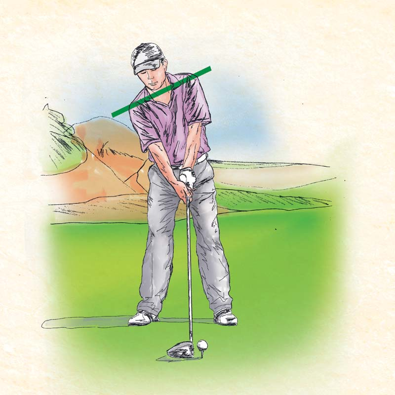 tập chơi golf
