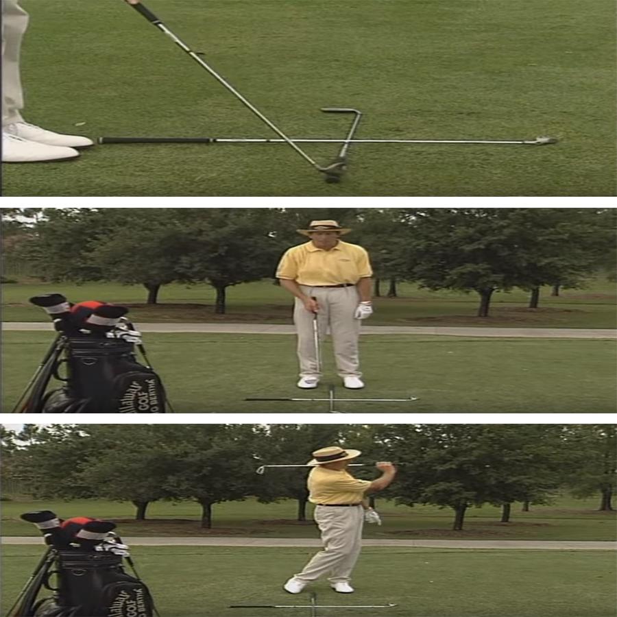tập đánh golf