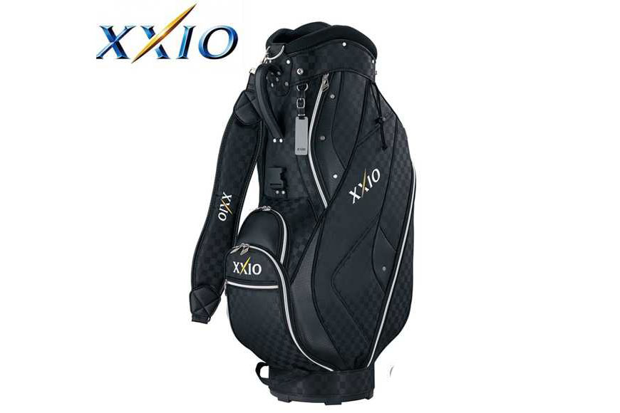 Túi golf XXIO (GGC-105) Cart Bag: BLK 1/ , NAVY CHECK/1