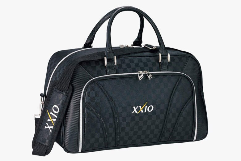 Túi xách golf XXIO (GGB-X105) Boston Bag ( Black check / 1, navy check /1)