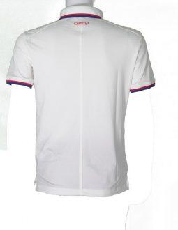 Áo golf Charly cộc tay màu trắng CHL-ACT1M-T