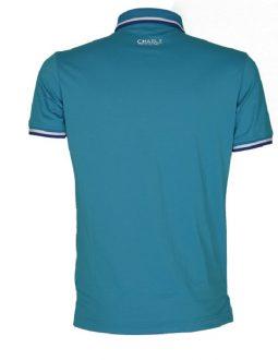 Áo golf Charly cộc tay xanh dương CHL-ACT1M-XD