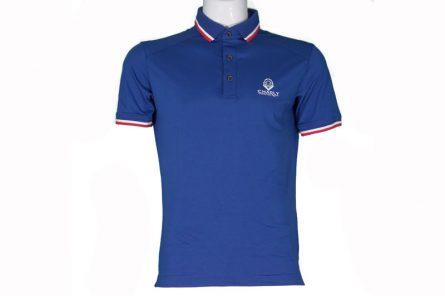 Áo golf Charly cộc tay màu xanh Navy | CHL-ACT1M-XNV