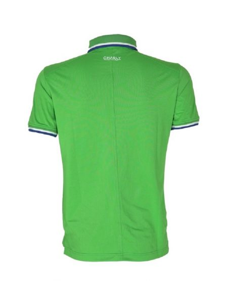 Áo golf Charly cộc tay xanh lá có gân CHL-ACT1MG-XL