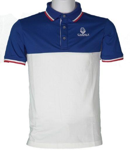 Áo golf Charly cộc tay phối màu CHL-ACTPM-XNVT