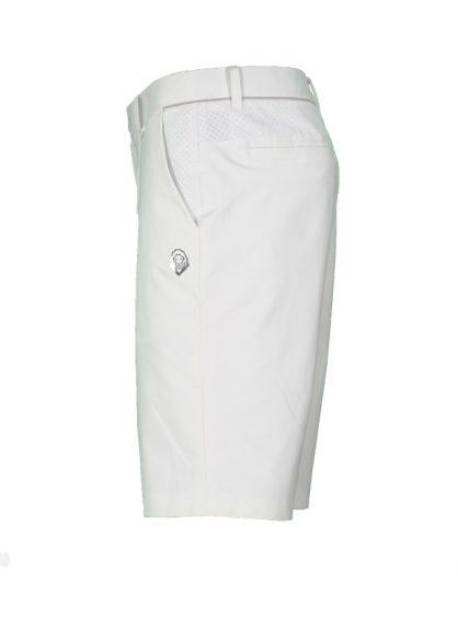 Quần sooc golf nam Charly trơn trắng CHL-QSTT