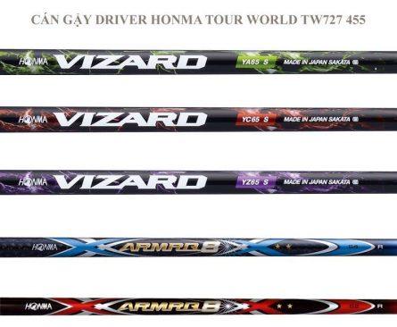 Gậy golf Driver Honma Tour World TW727 455