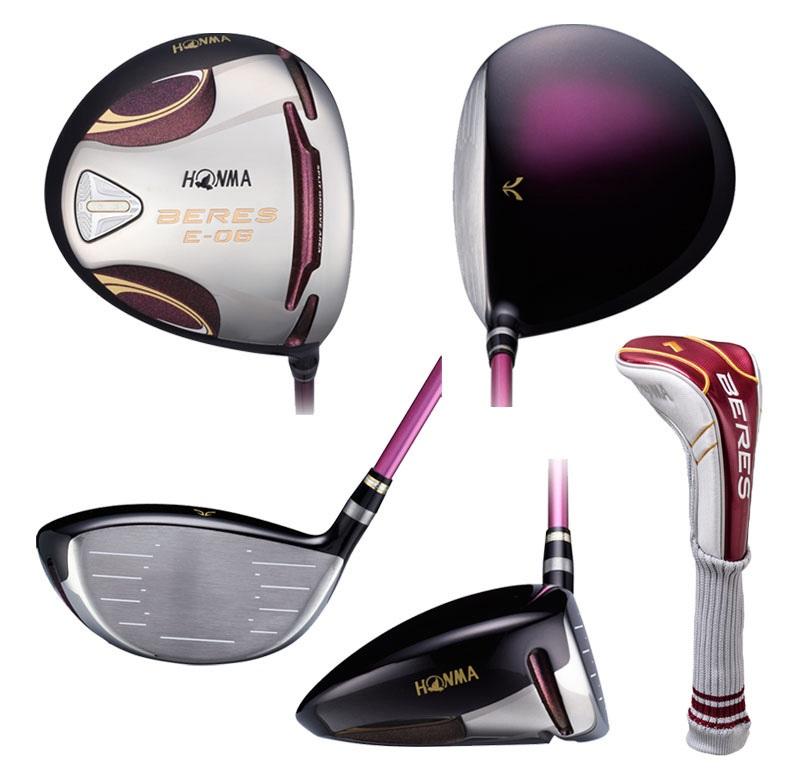 Thiết kế gậy đẹp, tinh tế rất phù hợp cho những golf thủ nữ
