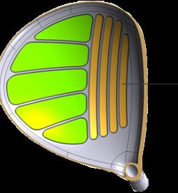 Gậy golf Drivers Honma E-05 Ladies 2 sao