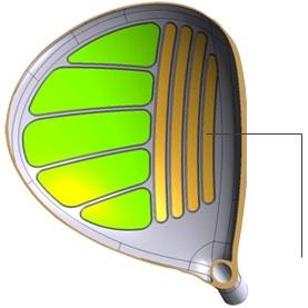 Gậy golf Drivers Honma E-05 Ladies 3 sao
