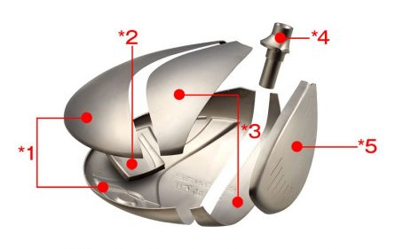 Gậy golf Fairway Honma Beres S-02 3 sao
