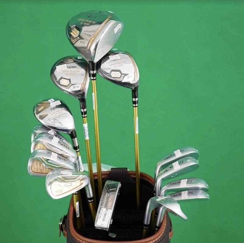 Hình ảnh bộ gậy golf full set honma 3 sao s06