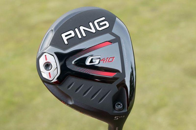 Ping G410 sẽ cho khoảng cách bóng ngắn hơn.