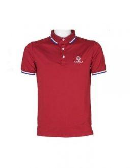 áo golf Charly cộc tay đỏ có gân CHL-ACT1MG-DOÁo golf Charly cộc tay đỏ có gân CHL-ACT1MG-DO