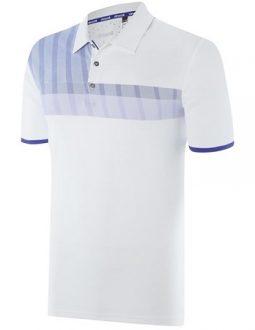 áo golf nam Adidas Golf ClimaChill Merch Stripe Polo