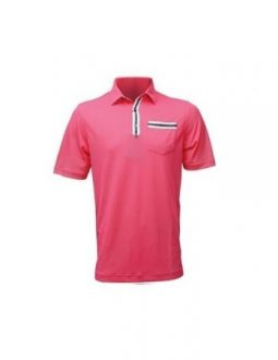 áo golf nam FootJoy Solid Stripe Placket