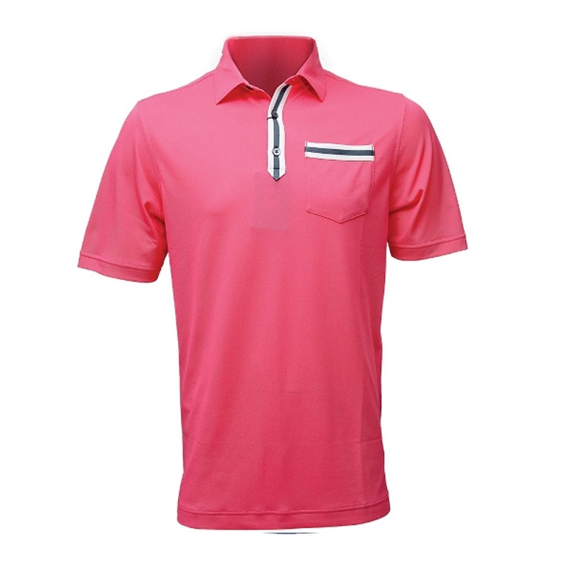 Mẫu áo FootJoy Solid Stripe Placket