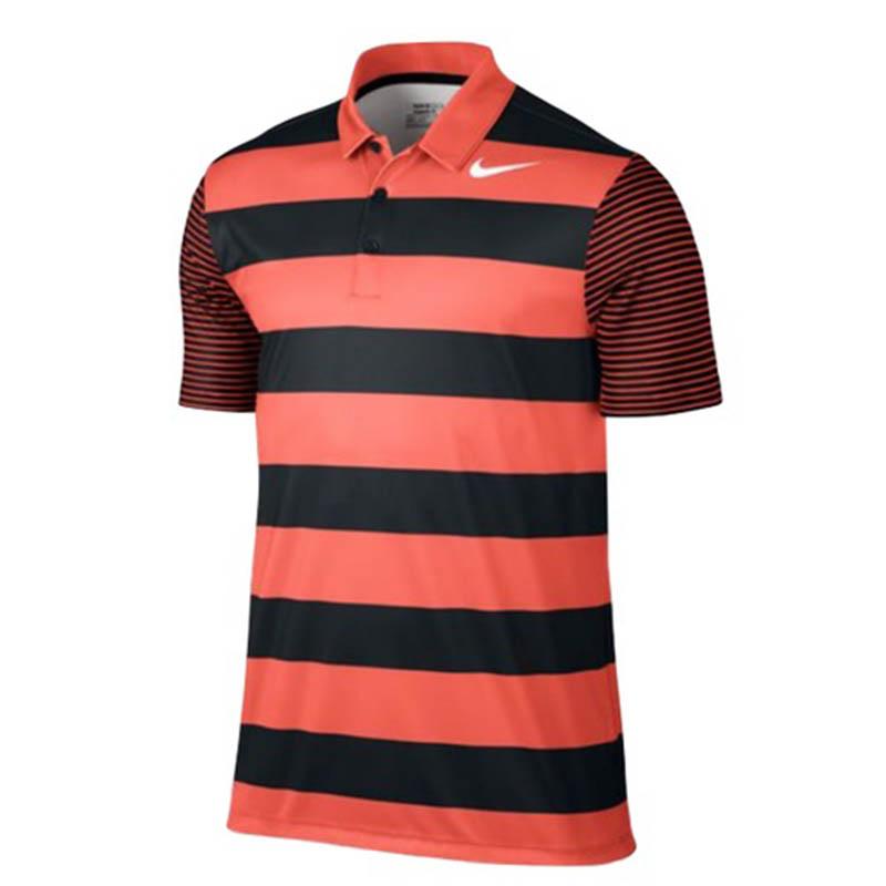 Áo Nike Breathe Bold Stripe Polo được thiết kế kiểu dáng nam tính, mạnh mẽ