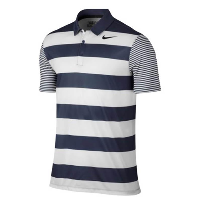 Nike Breathe Bold Stripe Polo sở hữu những đường kẻ sọc mạnh mẽ