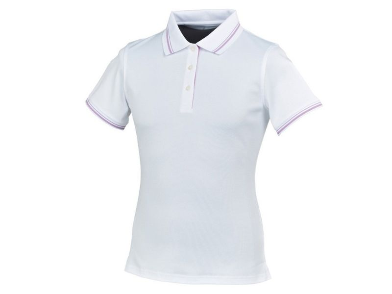 Áo golf nữ FootJoy Stretch Pique w/double stripe