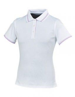 Áo golf nữ FootJoy Stretch Pique w/double stripe – 3 button placket