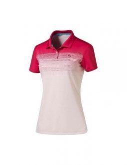 Áo golf nữ Puma W Colorblock Fade Polo