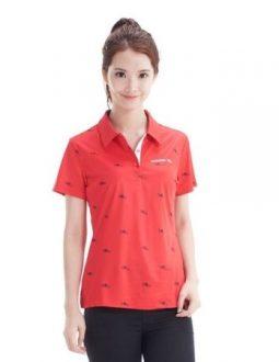 áo golf nữ Adidas UV SS POLO