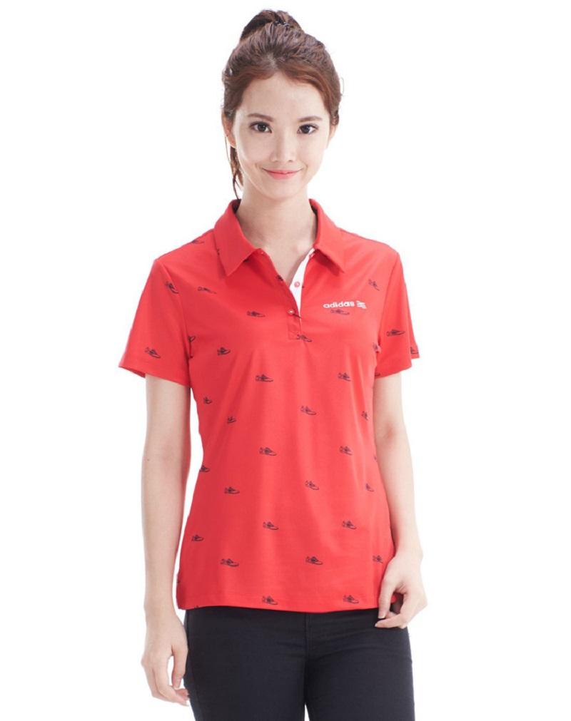 Mẫu áo cho nữ Adidas UV SS POLO