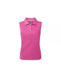 Áo golf nữ FootJoy Solid Interlock Sleeveless