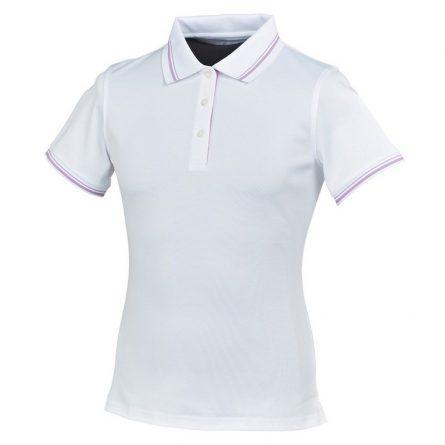 Áo golf nữ FootJoy Stretch Pique w/double stripe - 3 button placket