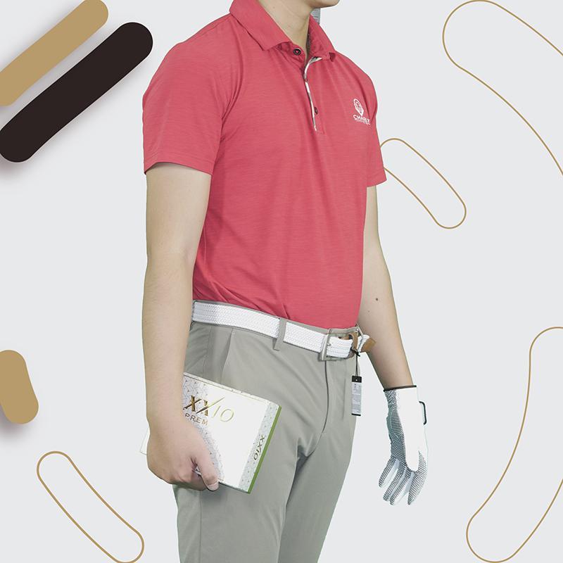 Áo có màu sắc đa dạng, phù hợp với lựa chọn của nhiều golfer