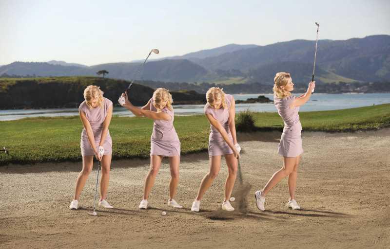 Tư thế đánh golf cơ bản