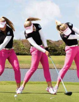 Các thao tác trong bài tập golf cơ bản