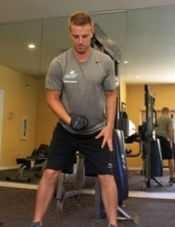 bài thể dục cho golfer