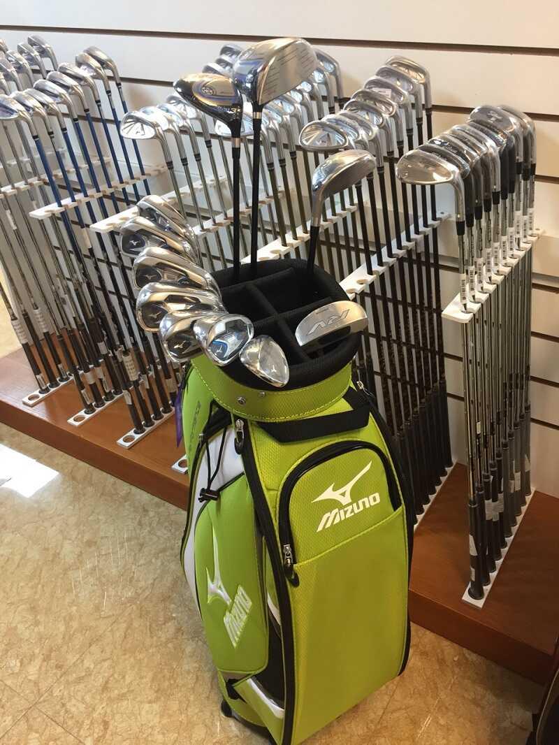 Bộ gậy golf Mizuno RV-5 nam có giá 27,6 triệu đồng