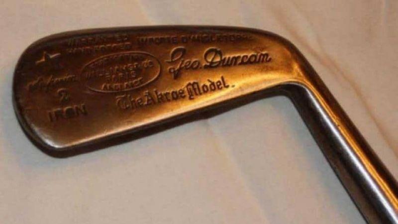 Simon Cossar thuộc top các cây gậy golf đắt nhất trên thế giới