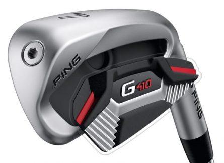 Cận cảnh Ping G410 Irons cán Graphite