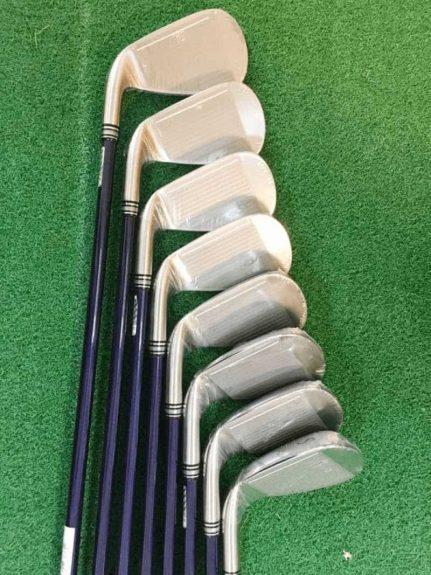 Bộ gậy này có giá thành tương đối mềm nên phù hợp với đại đa số golfer