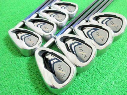 Cận cảnh bộ gậy golf Iron Sets XXIO XX9X NS Pro (Bộ 8 gậy)