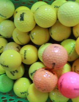 Bóng golf cũ Volvik màu