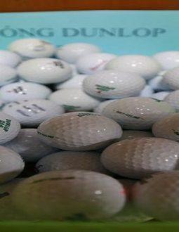 Bóng chơi golf cũ Dunlop